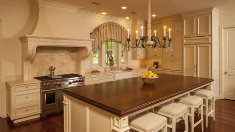 Traditional Kitchen Design Photo